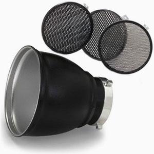 Оборудование Sunlightstudio – Рефлектор (60 градусов), шторки и тубус Bowens<br>