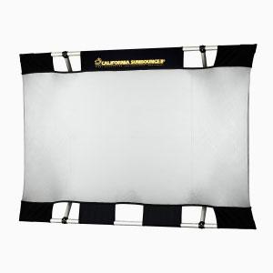 Оборудование Sunlightstudio – Отражатель Sun-Bounce MINI (90x125 см, серебро/белый)